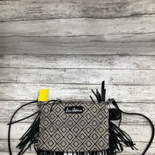 Primary Photo - BRAND: SAM EDELMAN , STYLE: CROSSBODY , COLOR: BLACK WHITE , SIZE: SMALL , SKU: 105-3752-30279