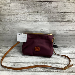Primary Photo - BRAND: DOONEY AND BOURKE , STYLE: HANDBAG DESIGNER , COLOR: PLUM , SIZE: SMALL , OTHER INFO: AS IS , SKU: 105-3752-30325
