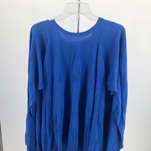 Primary Photo - BRAND: HALSTON HERITAGE , STYLE: PONCHO , COLOR: BLUE , SIZE: XL , SKU: 105-3752-30534