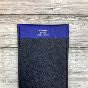 Primary Photo - BRAND: HERMES , STYLE: WALLET , COLOR: BLUE , SIZE: SMALL , OTHER INFO: HAS AUTHENTICITY PAPERS , SKU: 105-3752-29421