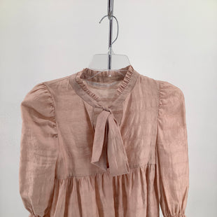 Primary Photo - BRAND: ZARA BASIC , STYLE: TOP LONG SLEEVE , COLOR: DUSTY PINK , SIZE: XS , SKU: 105-3752-19683