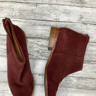 Primary Photo - BRAND:    CMD , STYLE: BOOTS ANKLE , COLOR: BURGUNDY , SIZE: 10 , SKU: 105-4940-1729