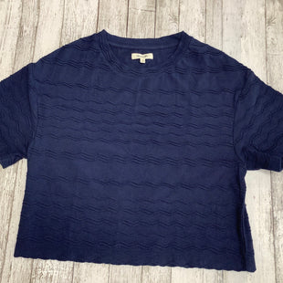 Primary Photo - BRAND: MADEWELL , STYLE: TOP SHORT SLEEVE BASIC , COLOR: BLUE , SIZE: S , SKU: 105-3221-13496