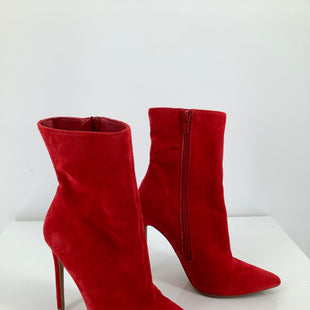 Primary Photo - BRAND: STEVE MADDEN , STYLE: BOOTS ANKLE , COLOR: RED , SIZE: 6 , SKU: 105-4605-9842, CONDITION AS PICTURED