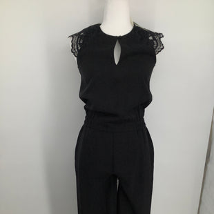 Primary Photo - BRAND: J CREW , STYLE: JUMPSUIT , COLOR: BLACK , SIZE: PETITE   SMALL , SKU: 105-3221-14023