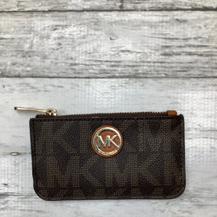Primary Photo - BRAND: MICHAEL KORS , STYLE: COIN PURSE , COLOR: BROWN , SIZE: SMALL , SKU: 105-4189-1701