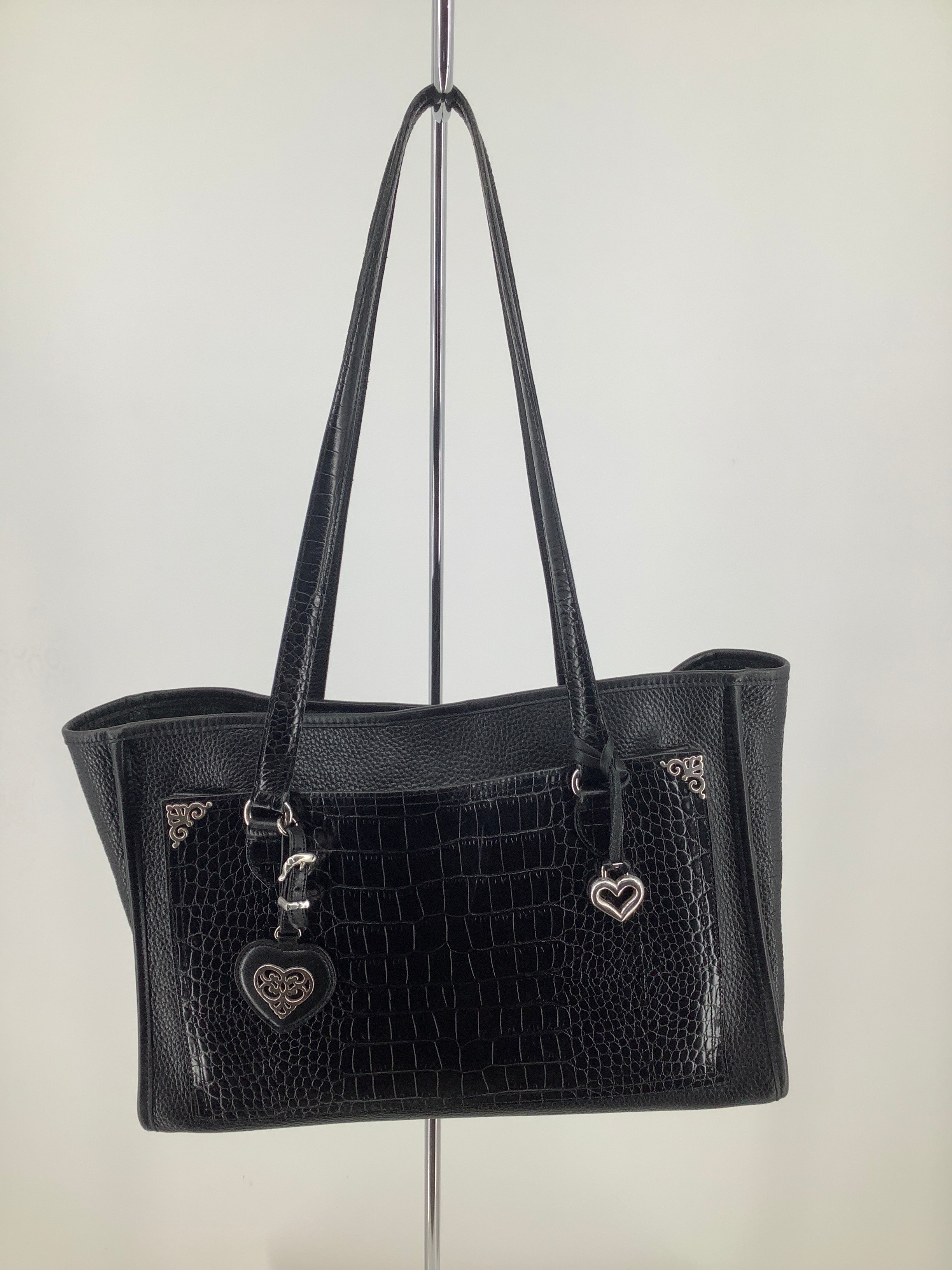 Primary Photo - brand: brighton , style: handbag designer, color: black , size: large , sku: 105-4940-6122