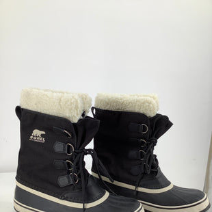 Primary Photo - BRAND:    CMD , STYLE: BOOTS RAIN , COLOR: BLACK , SIZE: 11 , OTHER INFO: SOREL - , SKU: 105-2768-28609