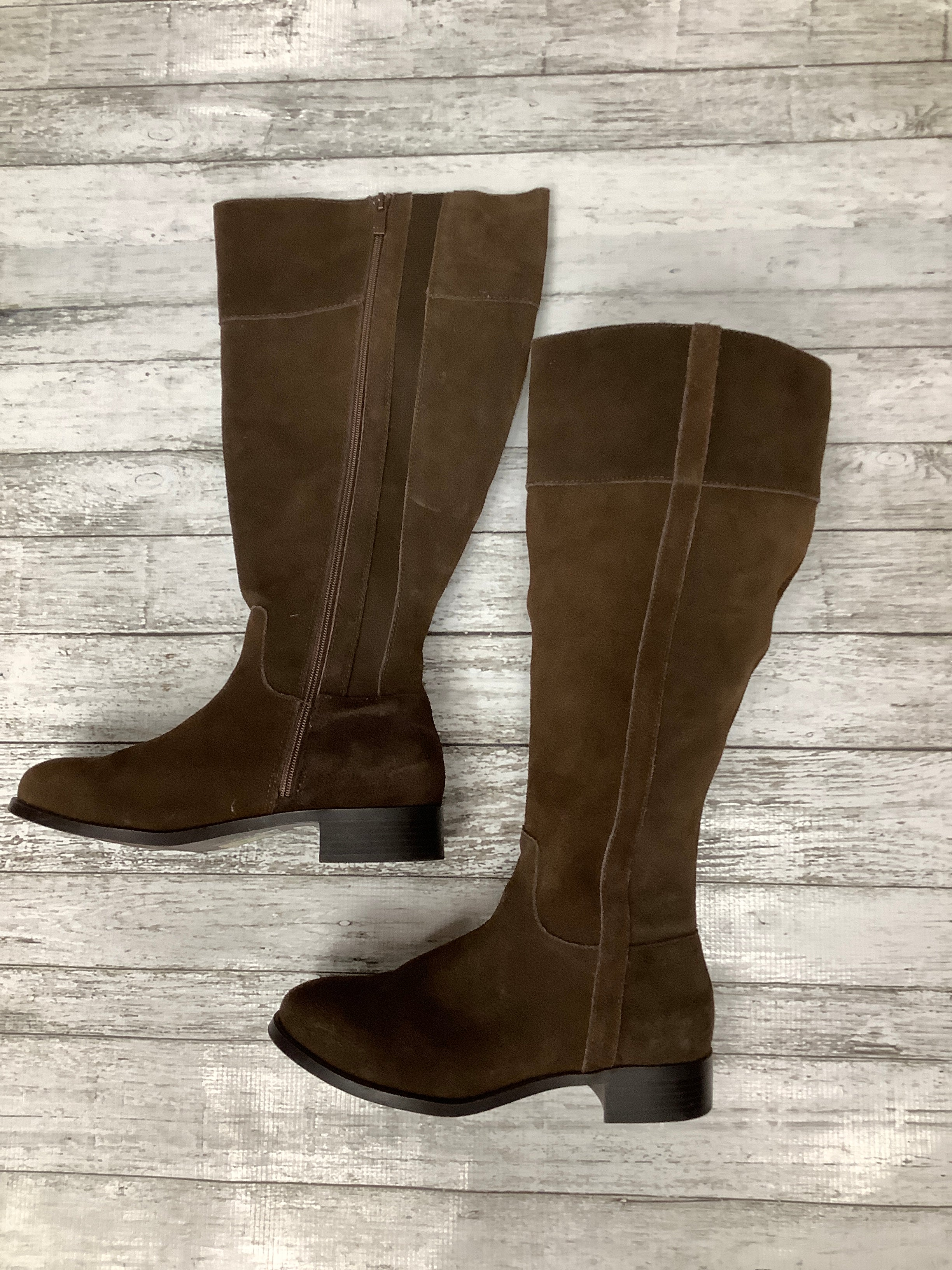 Primary Photo - brand: torrid , style: boots knee , color: brown , size: 7 , sku: 105-4189-3369