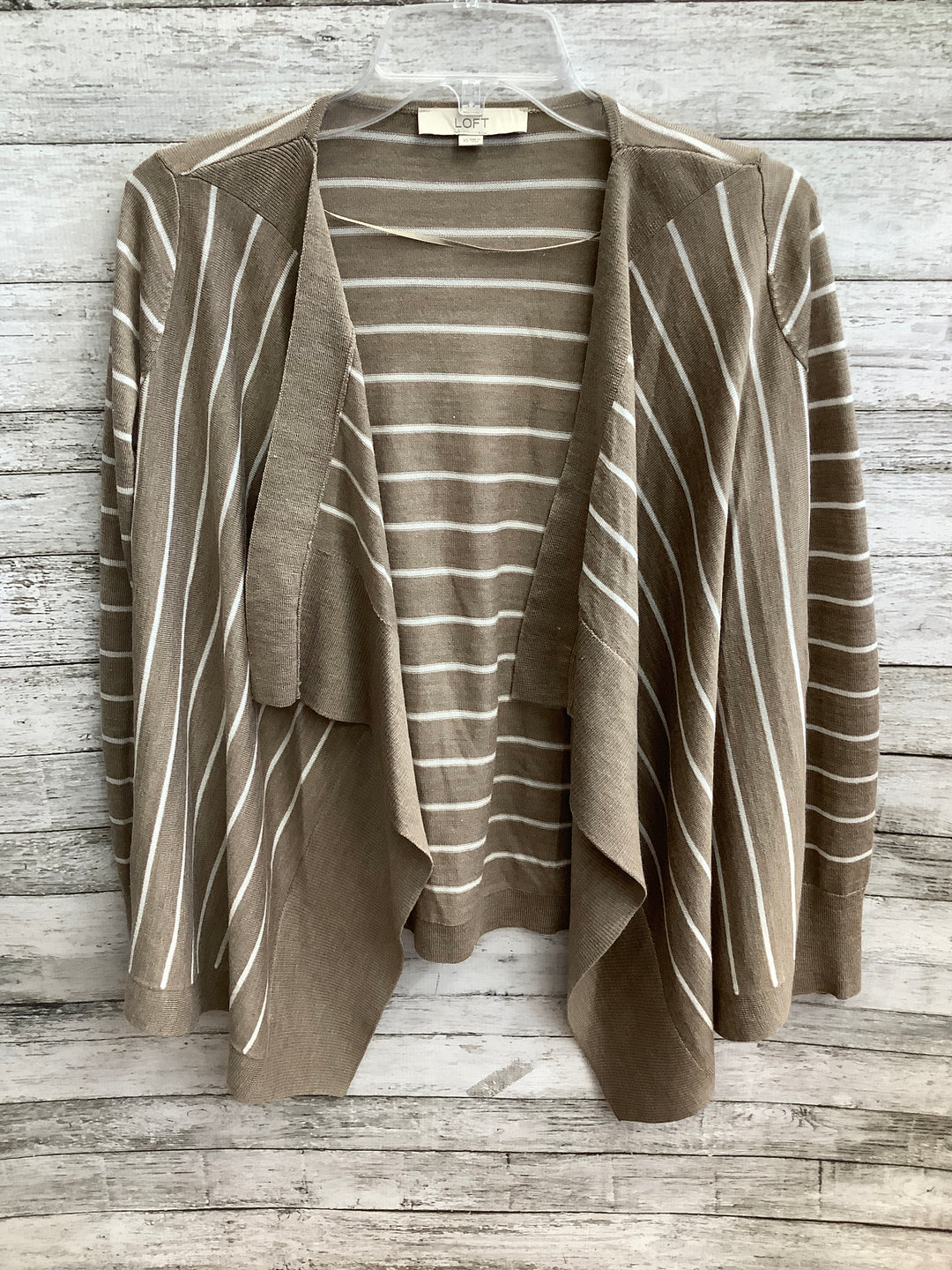 Primary Photo - brand: ann taylor loft , style: sweater cardigan lightweight , color: tan , size: xs , sku: 105-4940-4880