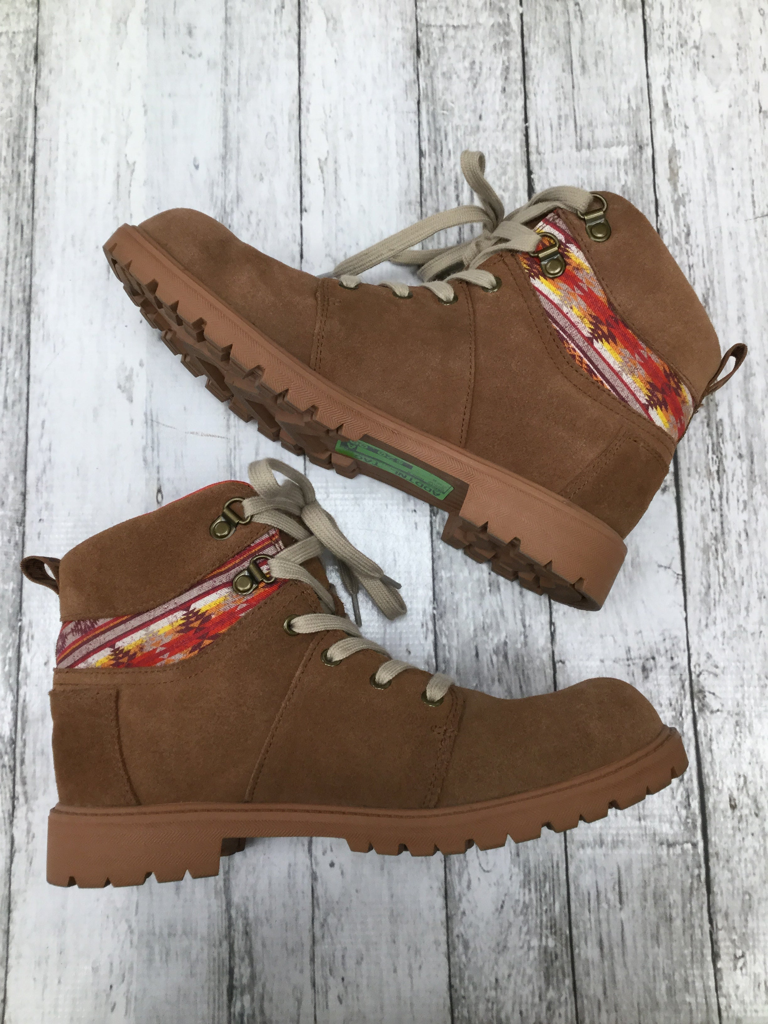 Primary Photo - BRAND: TOMS , STYLE: BOOTS ANKLE , COLOR: BROWN , SIZE: 6 , SKU: 105-2768-29393