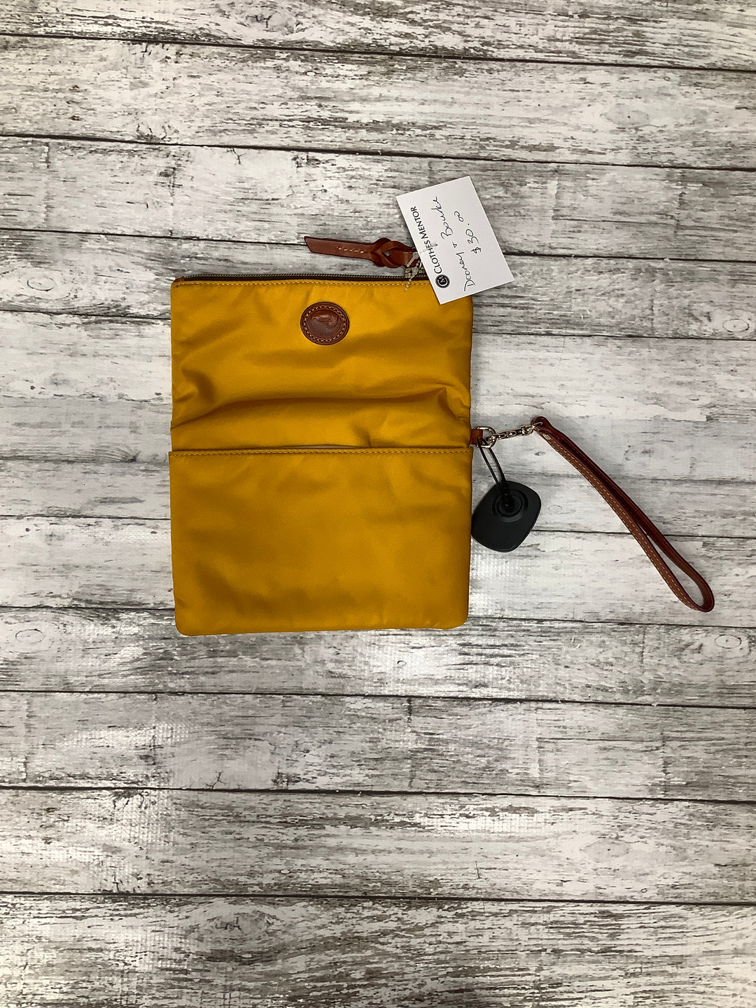 Primary Photo - BRAND: DOONEY AND BOURKE , STYLE: WRISTLET , COLOR: MUSTARD , SKU: 105-3752-30324