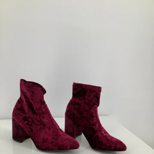 Primary Photo - BRAND: QUPID , STYLE: BOOTS ANKLE , COLOR: MAROON , SIZE: 6 , SKU: 105-2768-29341