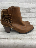 Photo #1 - brand: massini , style: boots ankle , color: brown , size: 11 , other info: new! , sku: 105-5184-2734