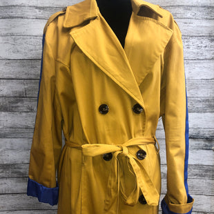 Primary Photo - BRAND: ASHLEY STEWART , STYLE: COAT LONG , COLOR: MUSTARD , SIZE: XL , SKU: 105-4605-6994