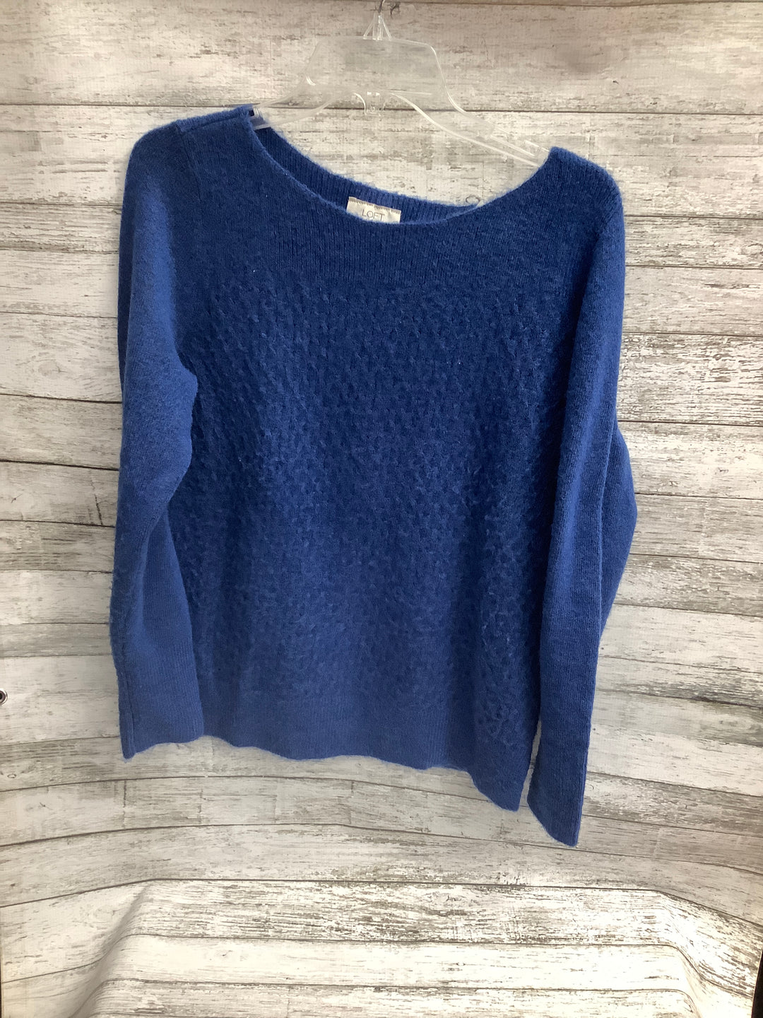 Primary Photo - brand: ann taylor loft o , style: sweater , color: blue , size: l , sku: 105-5184-764