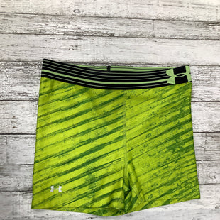 Primary Photo - BRAND: UNDER ARMOUR , STYLE: ATHLETIC SHORTS , COLOR: NEON , SIZE: S , SKU: 105-2768-24444