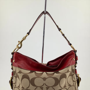 Primary Photo - BRAND: COACH , STYLE: HANDBAG DESIGNER , COLOR: RED , SIZE: LARGE , SKU: 105-3221-15505