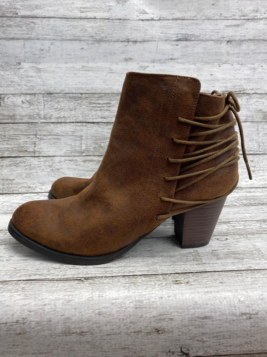 Photo #3 - brand: massini , style: boots ankle , color: brown , size: 11 , other info: new! , sku: 105-5184-2734