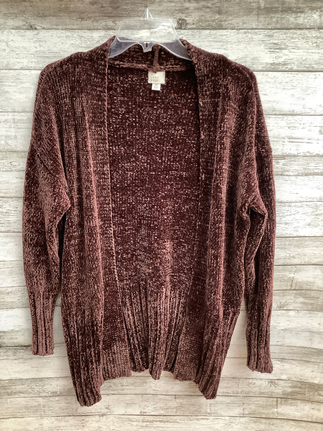 Primary Photo - brand: a new day , style: sweater cardigan heavyweight , color: brown , size: xs , sku: 105-4940-7715