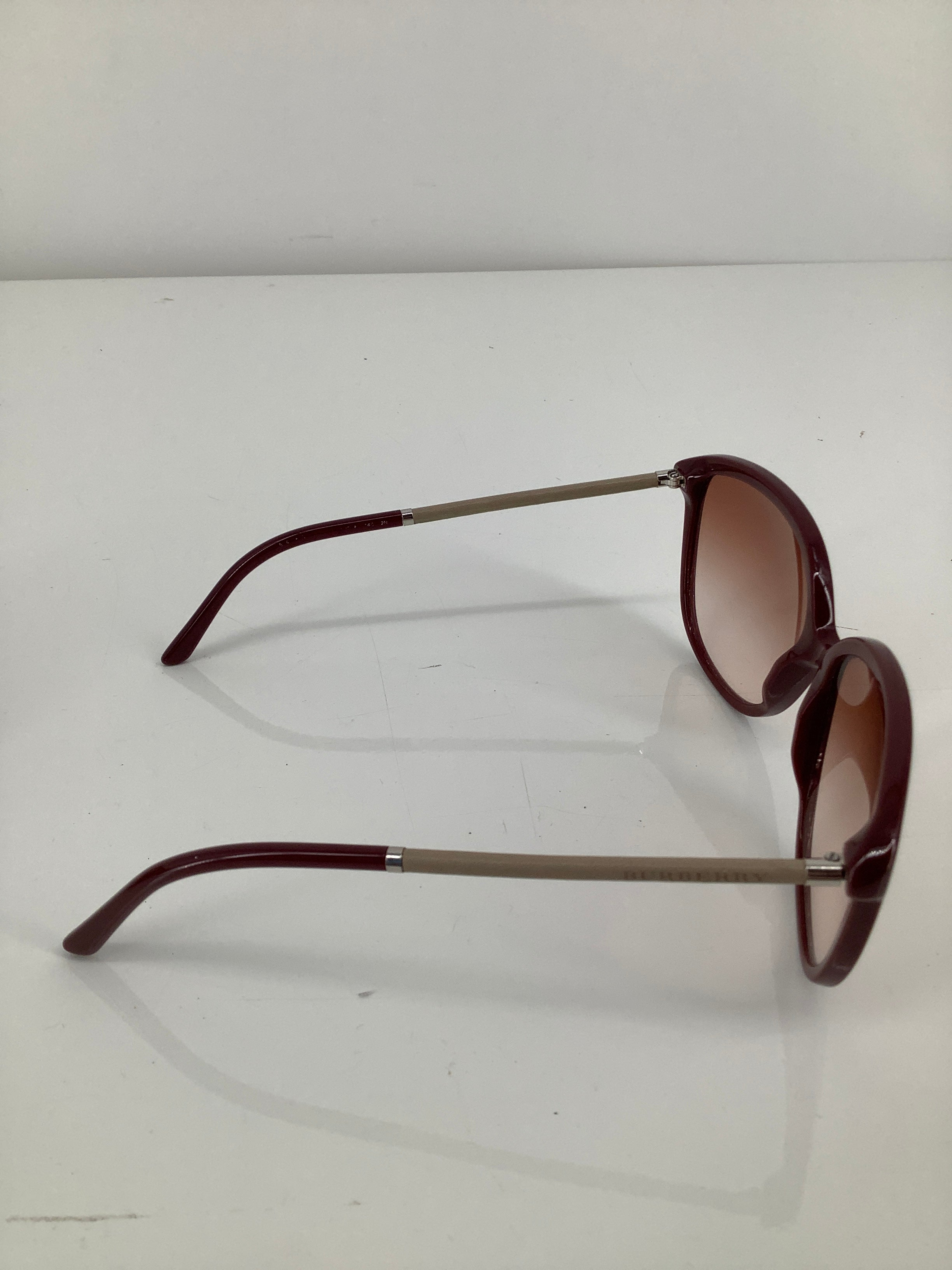 Photo #2 - brand: burberry , style: sunglasses , color: maroon , sku: 105-5184-5892