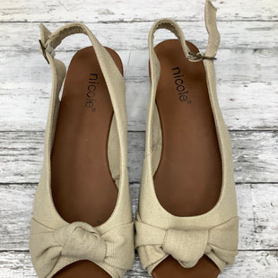 Primary Photo - BRAND: NICOLE , STYLE: SHOES FLATS , COLOR: SAND , SIZE: 8 , SKU: 105-3752-28538