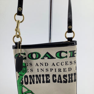 Primary Photo - BRAND: COACH , STYLE: HANDBAG DESIGNER , COLOR: CREAM , SIZE: SMALL , SKU: 105-3221-15503