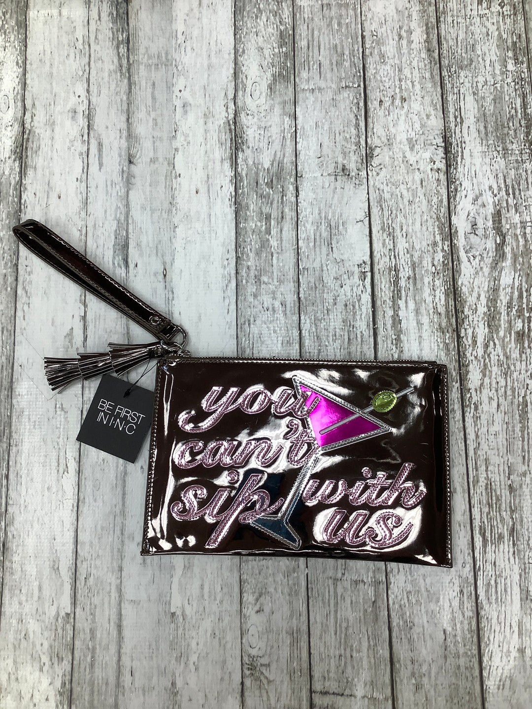 Primary Photo - BRAND: INC O , STYLE: WRISTLET , COLOR: SILVER , SKU: 105-3752-30764