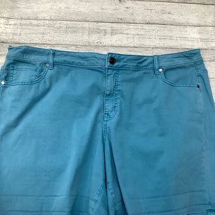 Primary Photo - BRAND: LANE BRYANT , STYLE: SHORTS , COLOR: AQUAMARINE , SIZE: 24 , SKU: 105-3221-708