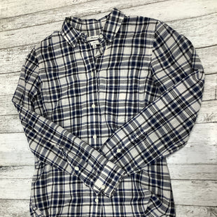 Primary Photo - BRAND: MADEWELL , STYLE: BLOUSE , COLOR: PLAID , SIZE: XS , SKU: 105-4189-2841