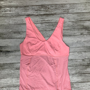Primary Photo - BRAND: LULULEMON , STYLE: ATHLETIC TANK TOP , COLOR: PINK , SIZE: 12 , SKU: 105-4940-5861