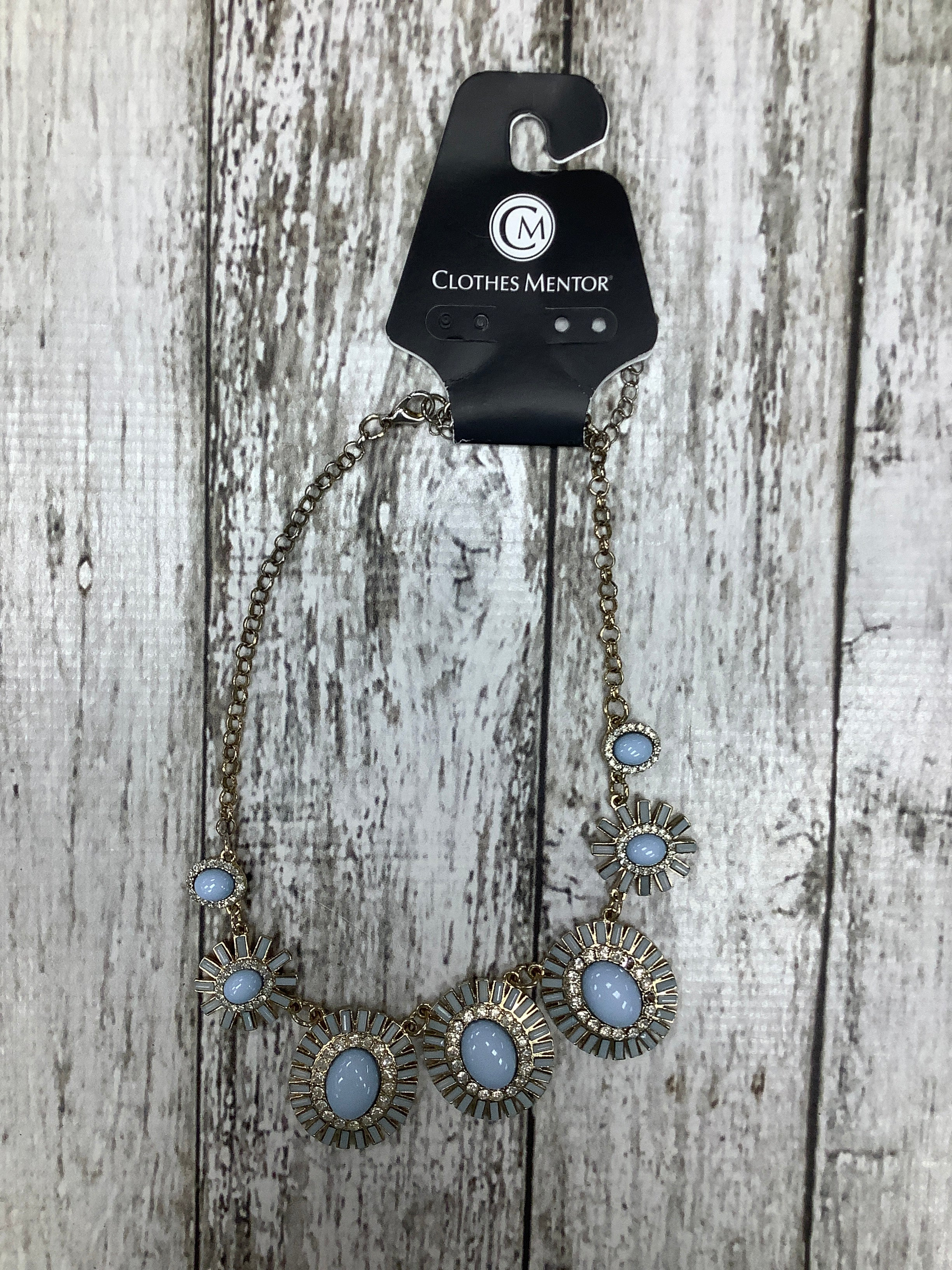 Primary Photo - brand:    cmd , style: necklace , color: baby blue , sku: 105-3752-30002