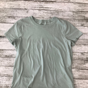 Primary Photo - BRAND: MADEWELL , STYLE: TOP SHORT SLEEVE BASIC , COLOR: SAGE , SIZE: S , SKU: 105-3221-13495