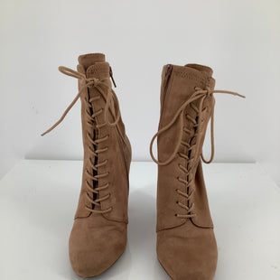 Primary Photo - BRAND: STEVE MADDEN , STYLE: BOOTS ANKLE , COLOR: BEIGE , SIZE: 6.5 , SKU: 105-4605-9843