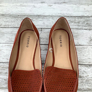 Primary Photo - BRAND: TORRID , STYLE: SHOES FLATS , COLOR: RUST , SIZE: 11 , SKU: 105-3221-8789