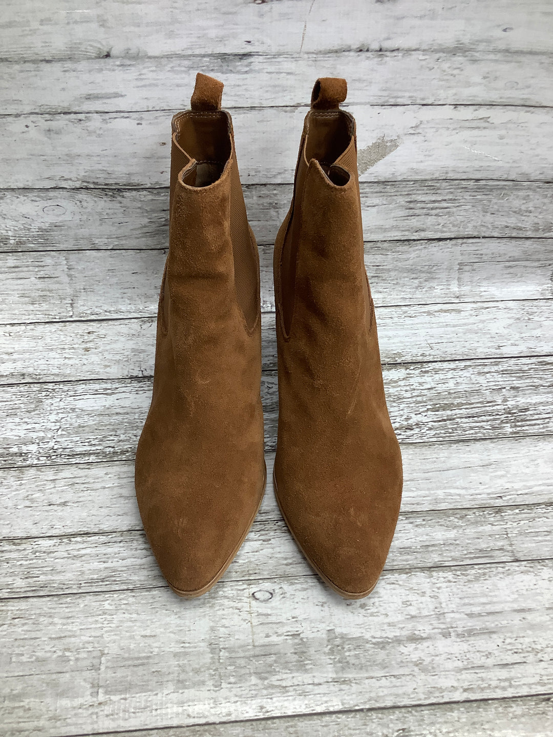 Primary Photo - brand: steve madden , style: boots ankle , color: tan , size: 11 , sku: 105-5023-2963