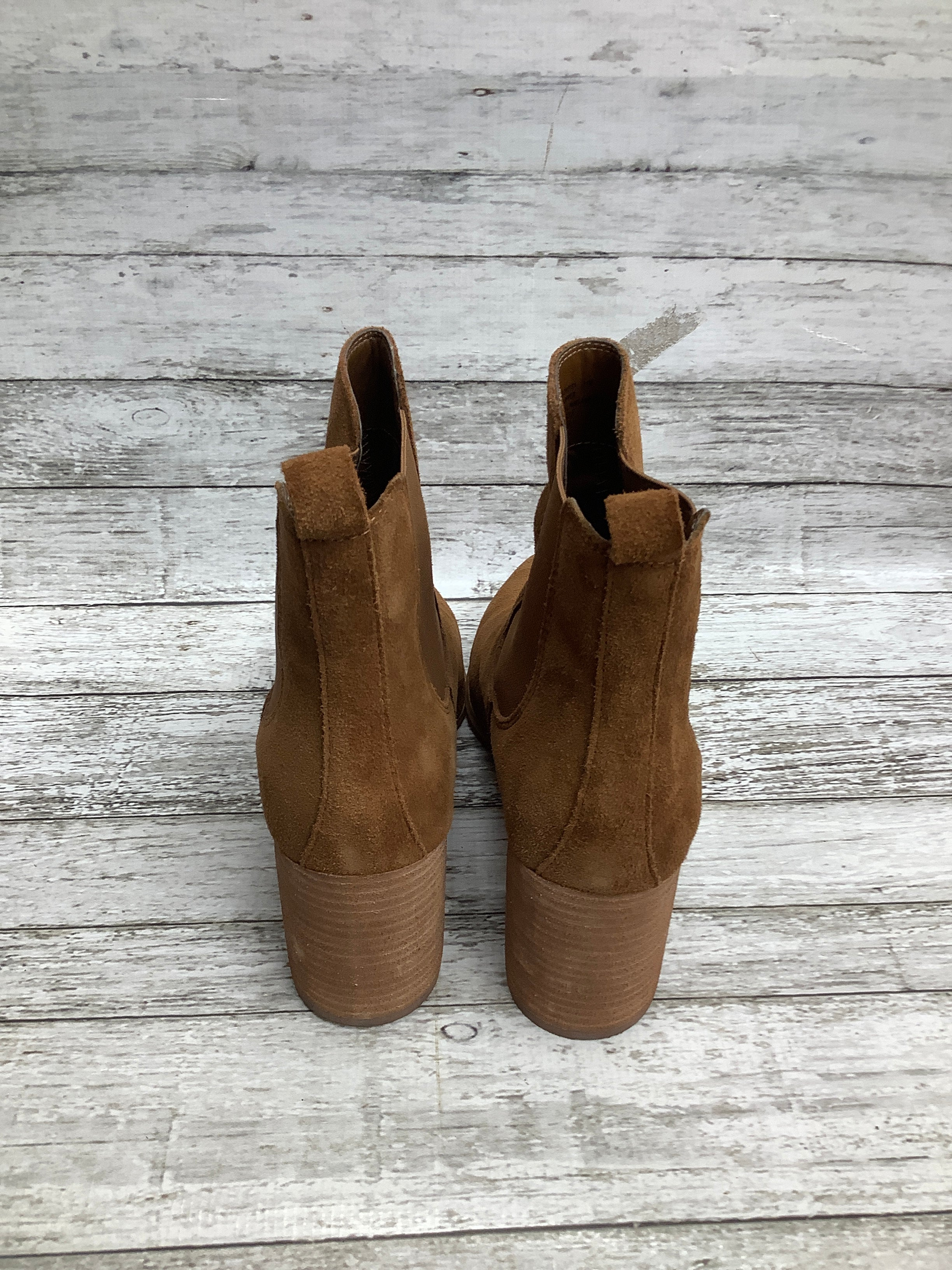 Photo #2 - brand: steve madden , style: boots ankle , color: tan , size: 11 , sku: 105-5023-2963