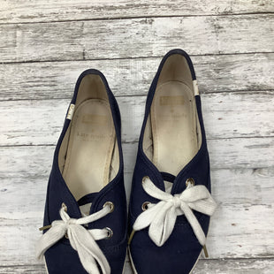Primary Photo - BRAND: KATE SPADE , STYLE: SHOES FLATS , COLOR: NAVY , SIZE: 7.5 , OTHER INFO: AS IS , SKU: 105-3752-24213
