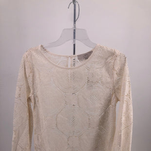 Primary Photo - BRAND: ANN TAYLOR LOFT , STYLE: TOP LONG SLEEVE , COLOR: CREAM , SIZE: S , OTHER INFO: NEW! , SKU: 105-4940-4353