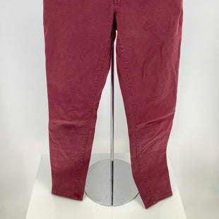 Primary Photo - BRAND: MADEWELL , STYLE: PANTS , COLOR: MAROON , SIZE: 2 , SKU: 105-4940-5006