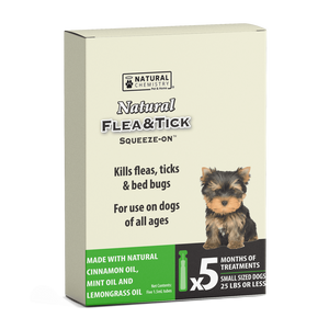 Natural Flea & Tick Squeeze-On - Flea & Tick - Natural Chemistry - Miracle Corp
