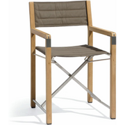 Manutti Cross Teak Chair Taupe