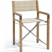 Manutti Cross Teak Chair ecru