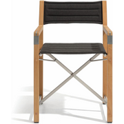 Manutti Cross Teak Chair Black