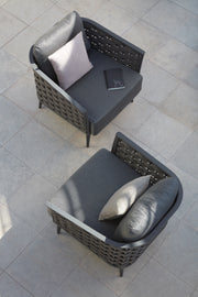Cascade Lounge Chairs Outside