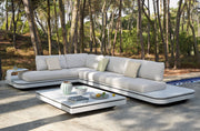 Luxury Manutti Elements sofa in garden