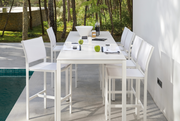 Latona Barstool around table white