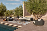 Manutti Linear Rug Kobo outdoor seating