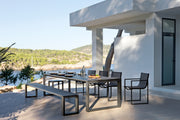 Manutti Outdoor Latona Dining Table and Chair