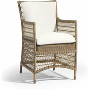 Manutti Malibu Cord Square dining chair